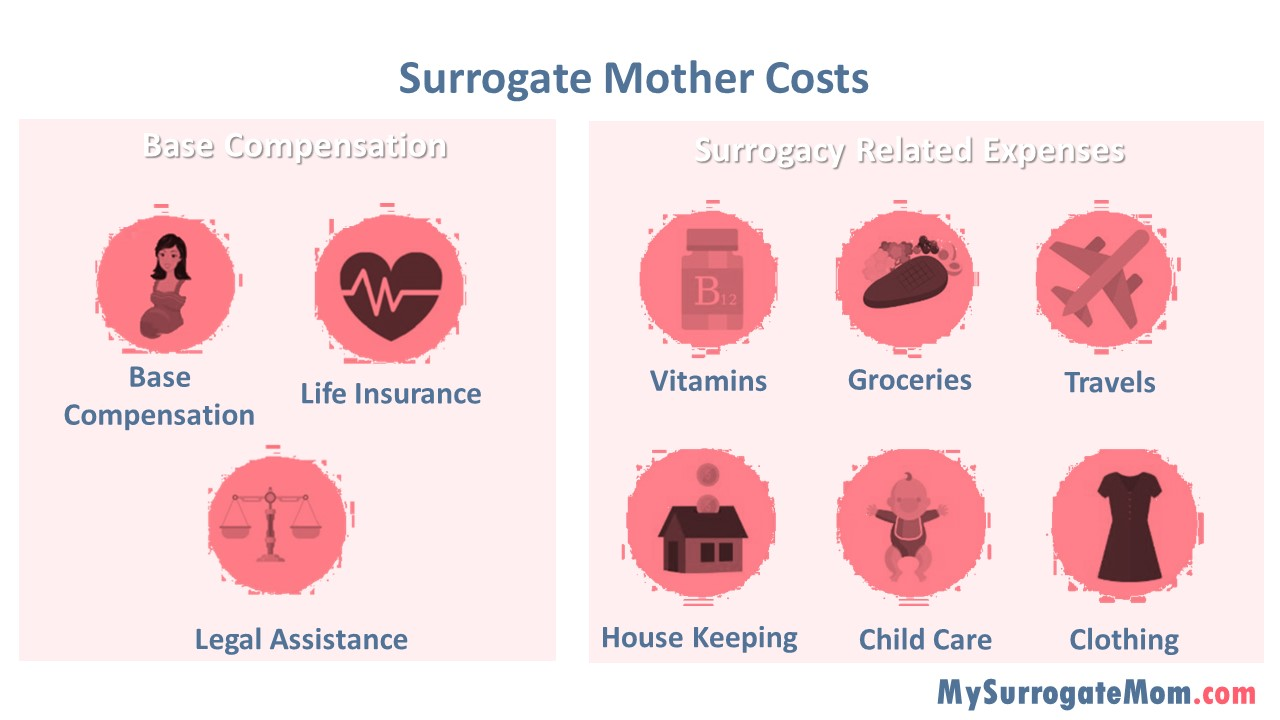 surrogate mother cost
