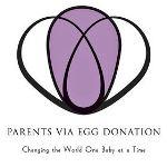 Parents via egg donation organization