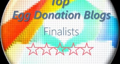 top ten egg donation blogs finalist